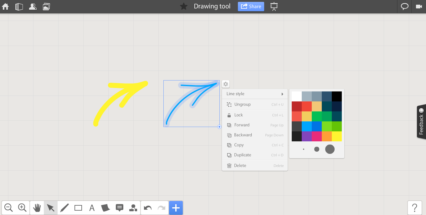 Marvelous Drawing Tools Online #4: Online Whiteboard Drawing | Ipefi.com
