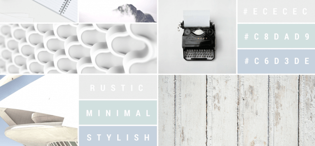 Online Mood Board Example