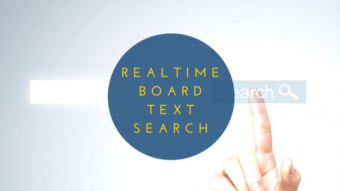 Realtimeboard Text Search