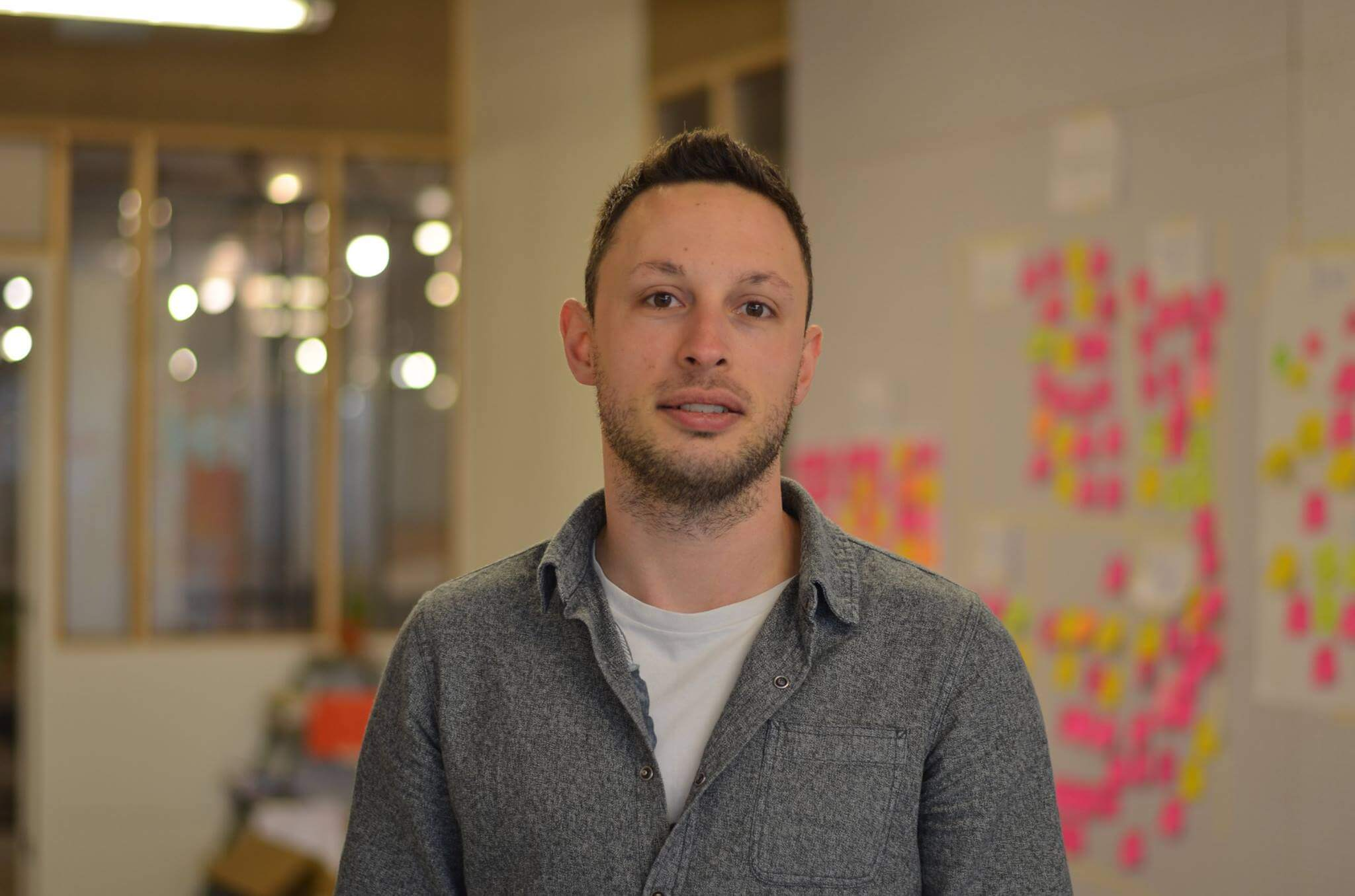 Marcel Hadderingh, Jr User Experience Designer at a startup in Amsterdam.