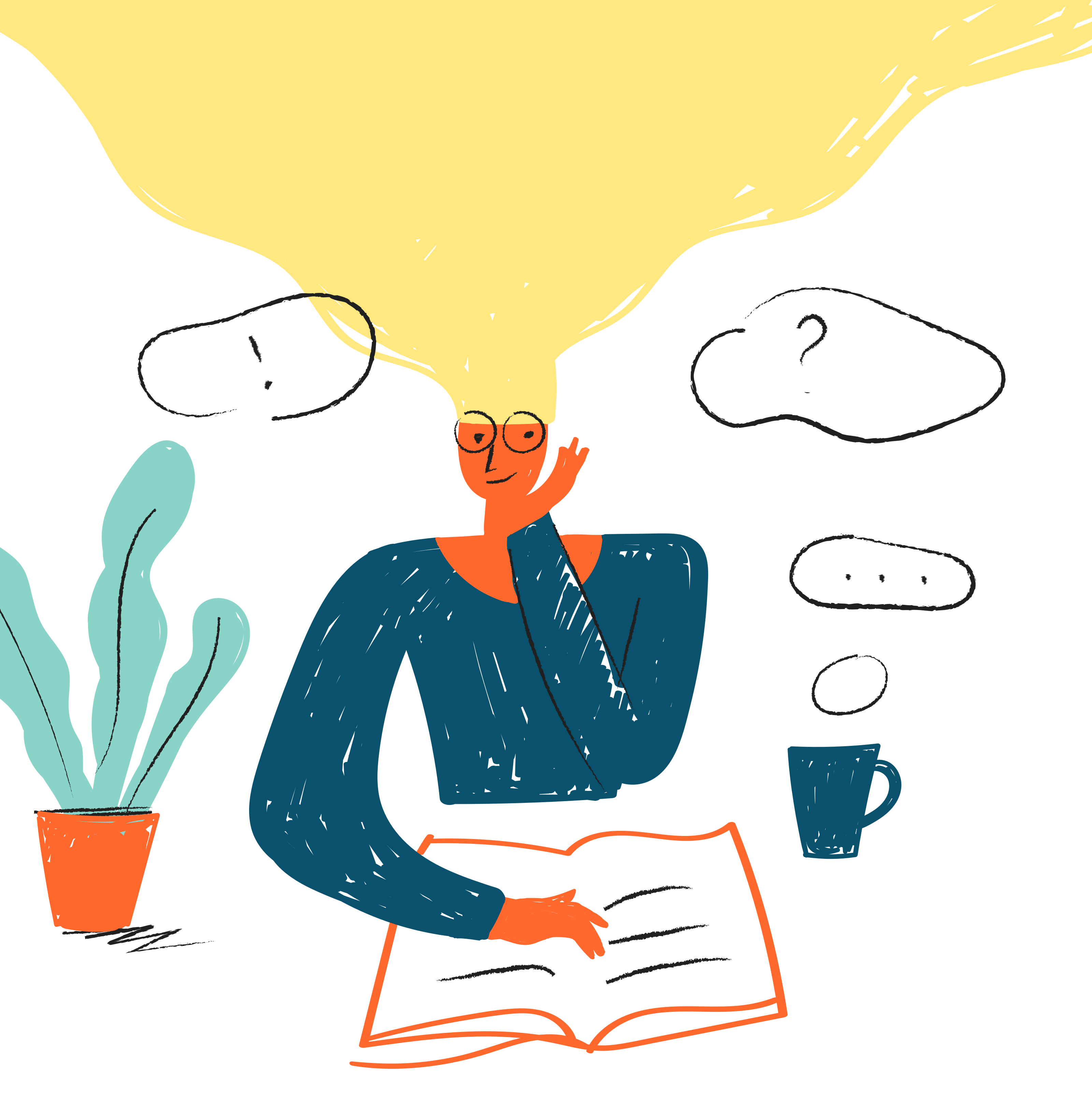 ux design customer illustration