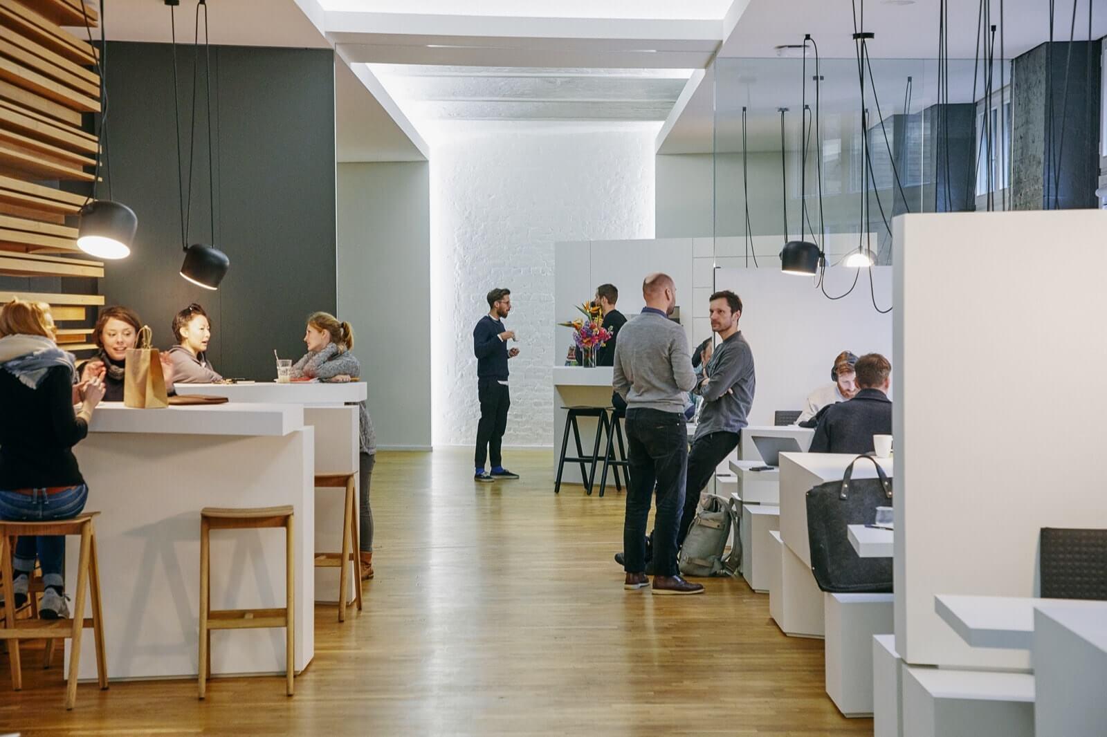 Inside the BCGDV office
