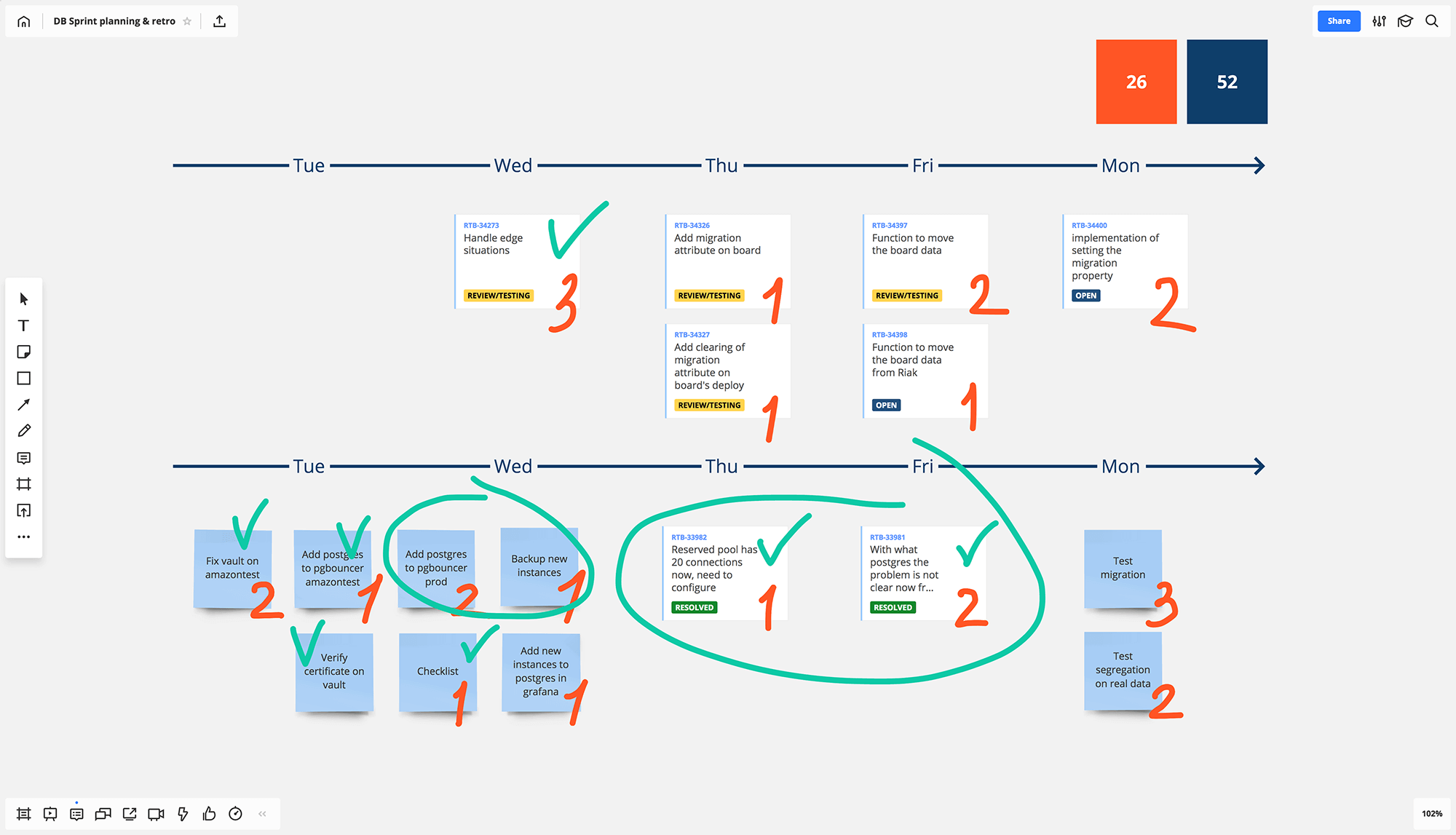 Jira Cards for visual project management screen 3