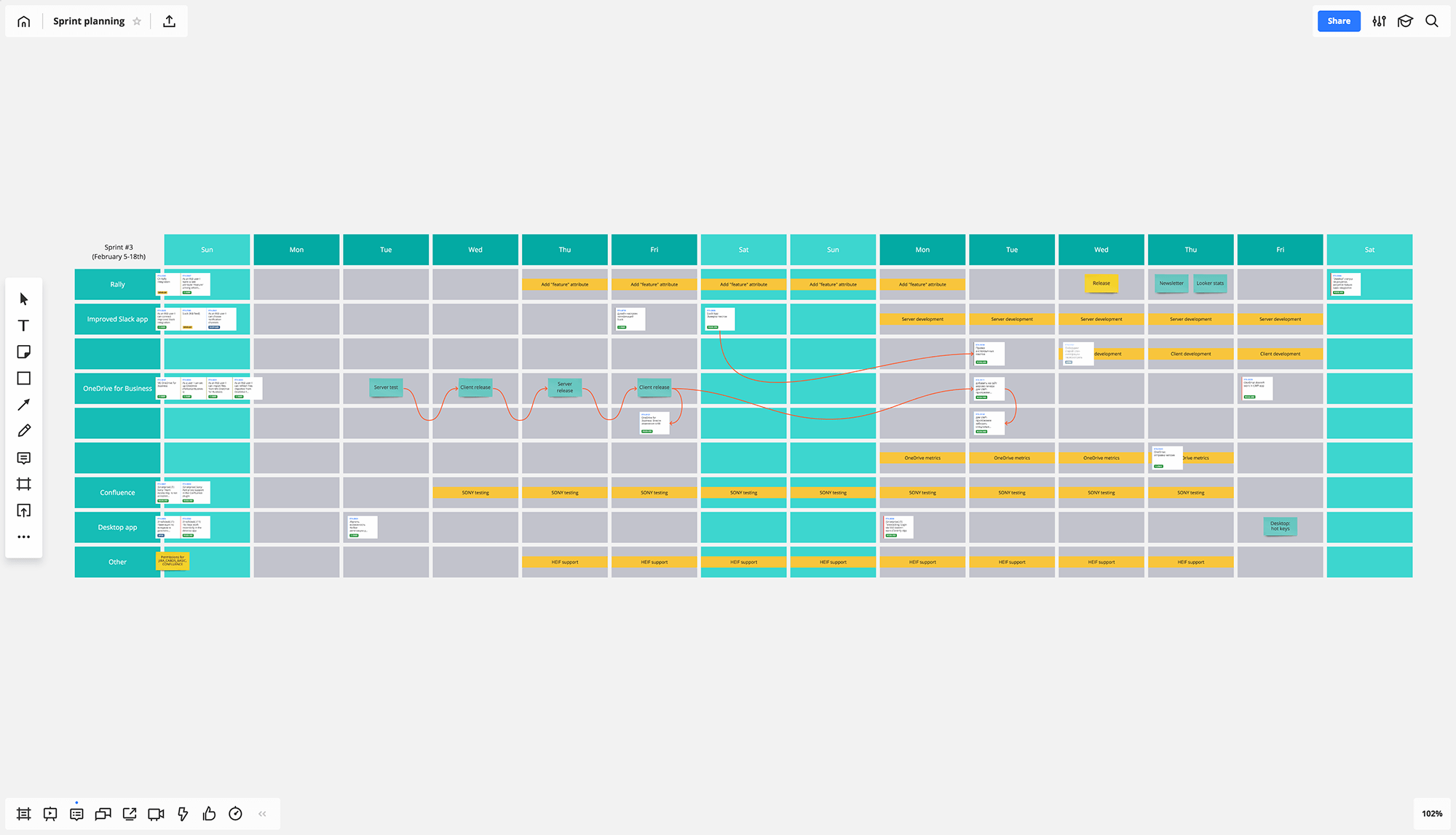 Jira Cards for visual project management screen 1