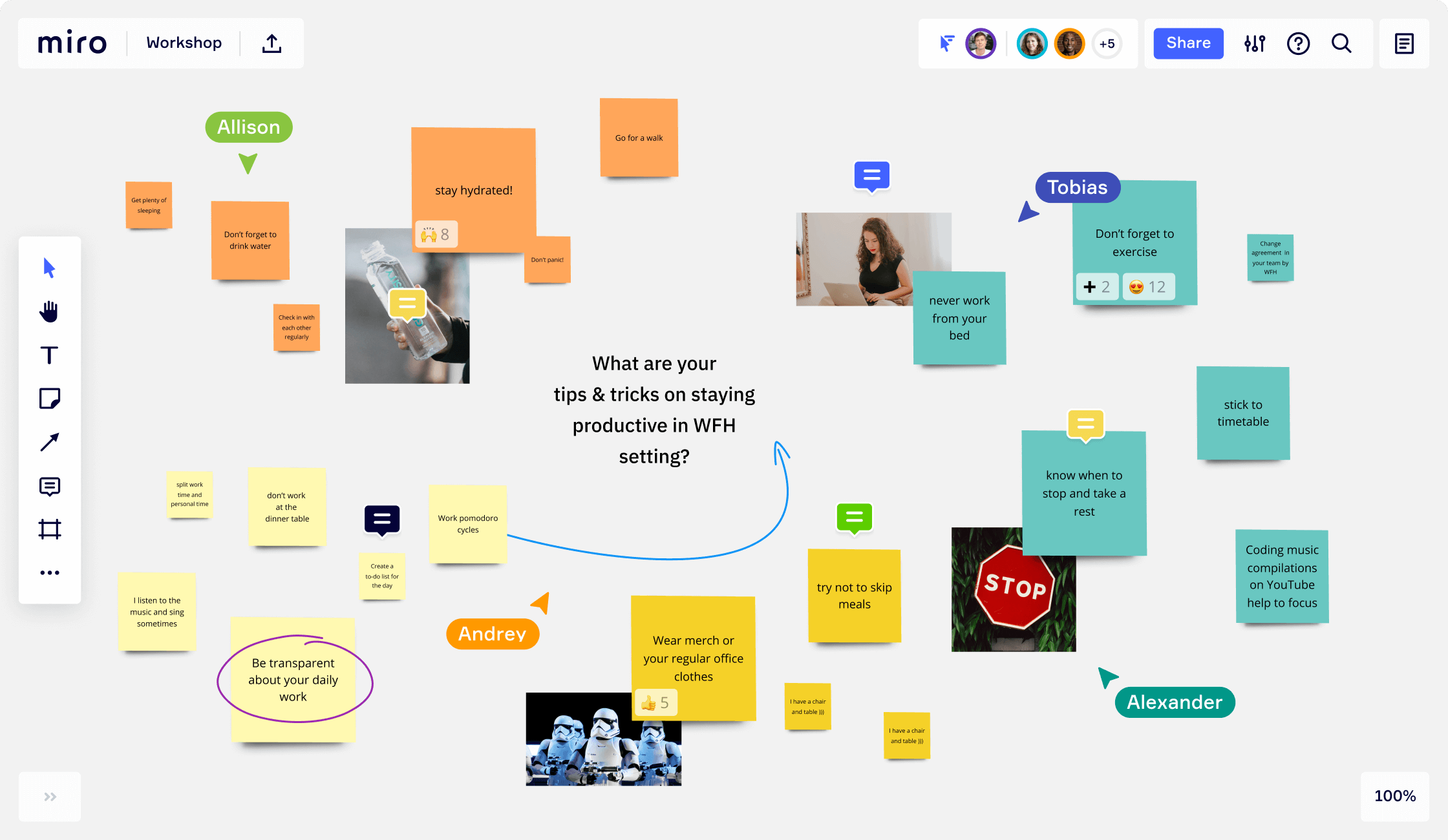 Online Sticky Notes For Virtual Collaboration Miro